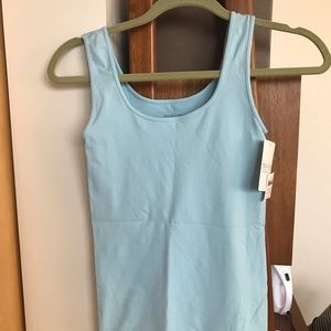 NWT! Tees by Tina tank in Sky Blue